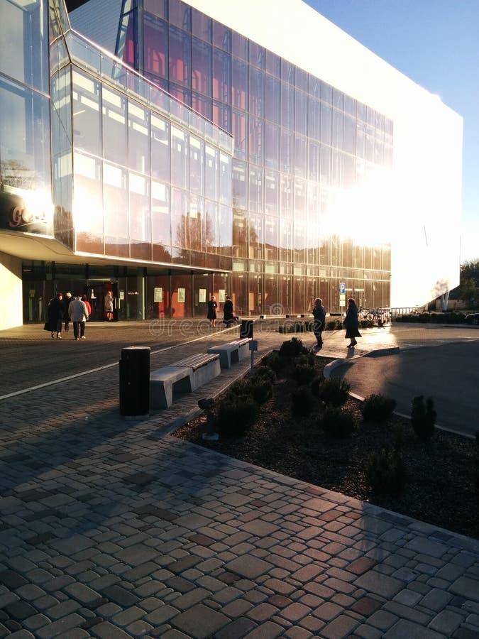 Rezekne, концертный зал Gors, Латвия, Latgale стоковое фото