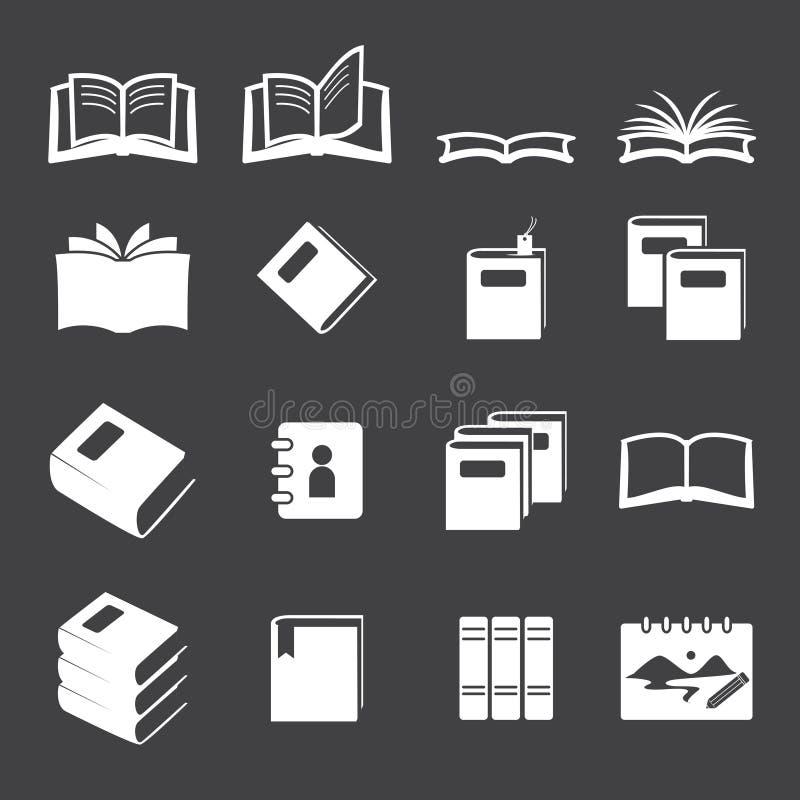 Rezerwuje ikona set ilustracji
