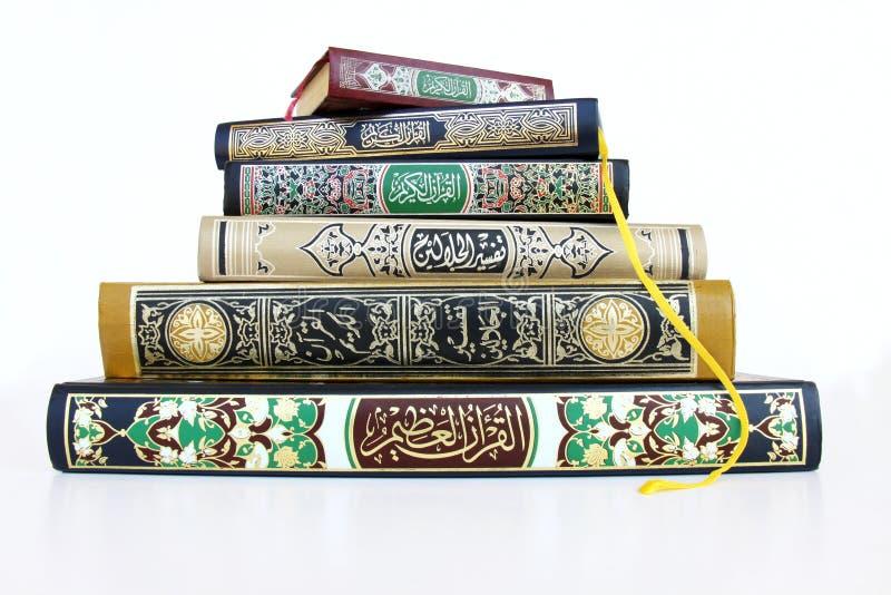 rezerwuje islamskiego zdjęcia royalty free