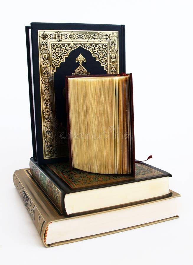 rezerwuje muslims zdjęcia stock