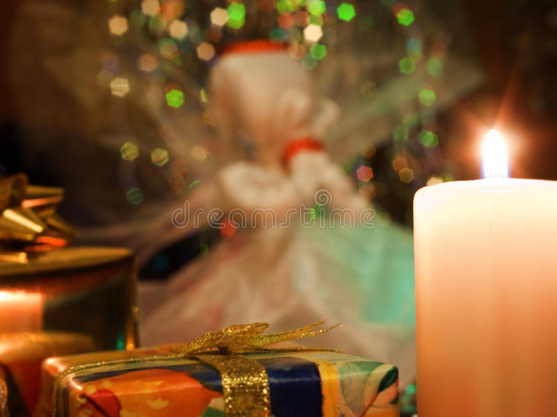 Rezo de la Navidad fotos de archivo