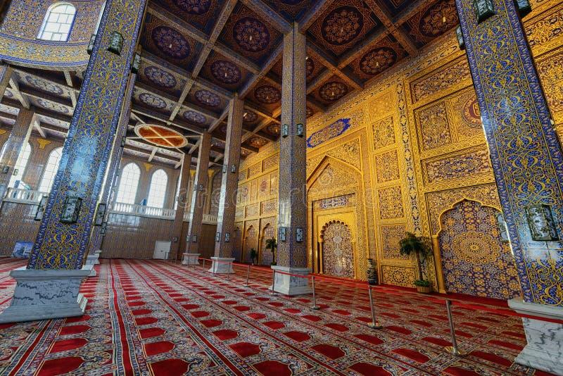 Rezo Pasillo de la mezquita en Yinchuan, China imagen de archivo libre de regalías