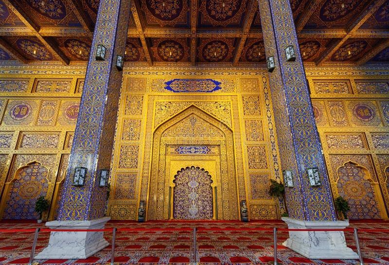 Rezo Pasillo de la mezquita en Yinchuan, China fotos de archivo libres de regalías