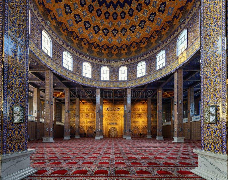Rezo Pasillo de la mezquita en Yinchuan, China imágenes de archivo libres de regalías