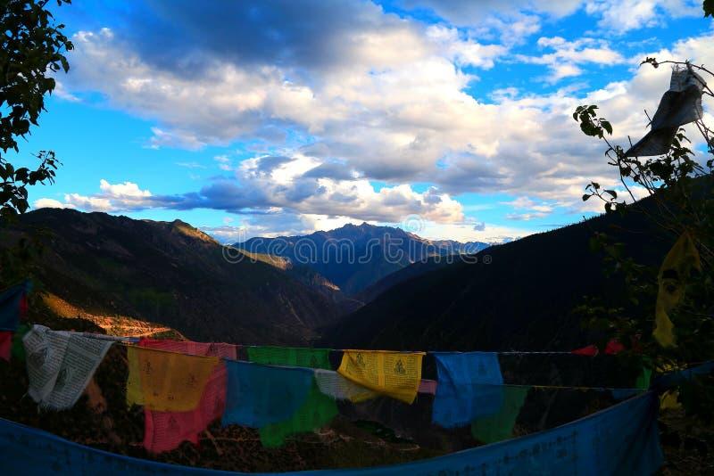 Rezo tibetano foto de archivo libre de regalías