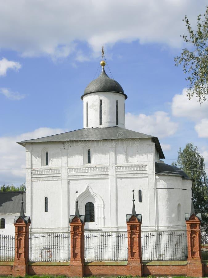 Rezurekcyjna katedra w Volokolamsk Kremlin, Moskwa region obraz stock