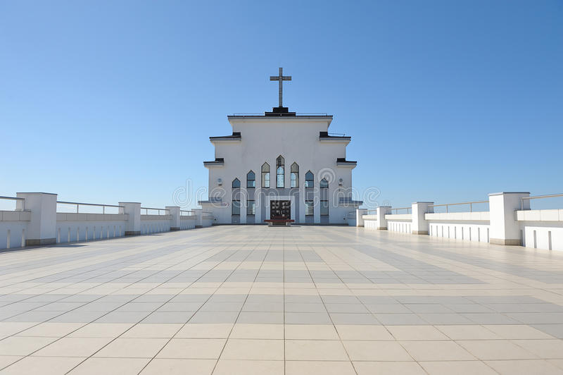 Rezurekcyjny kościół fotografia royalty free