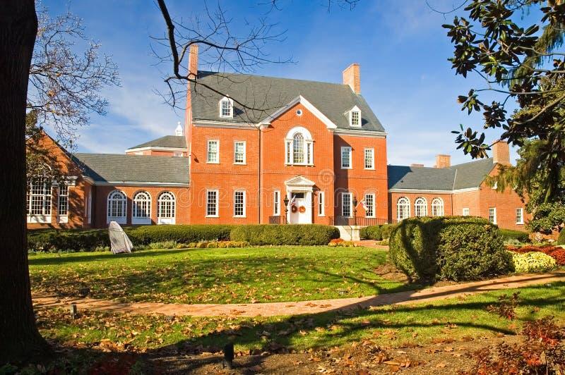 rezydencja gubernatora jest Maryland. zdjęcia royalty free