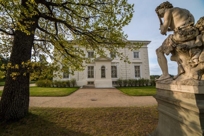 Rezydencja ziemska blisko Trakai, zdjęcie stock