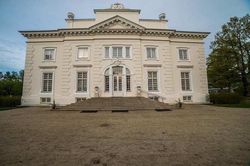 Rezydencja ziemska blisko Trakai, zdjęcia stock
