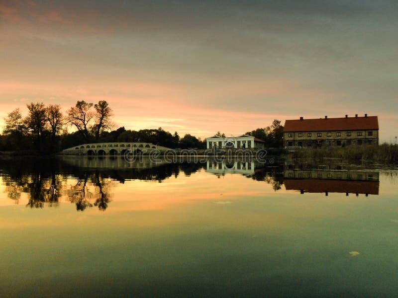 Rezydencja ziemska dom obrazy royalty free