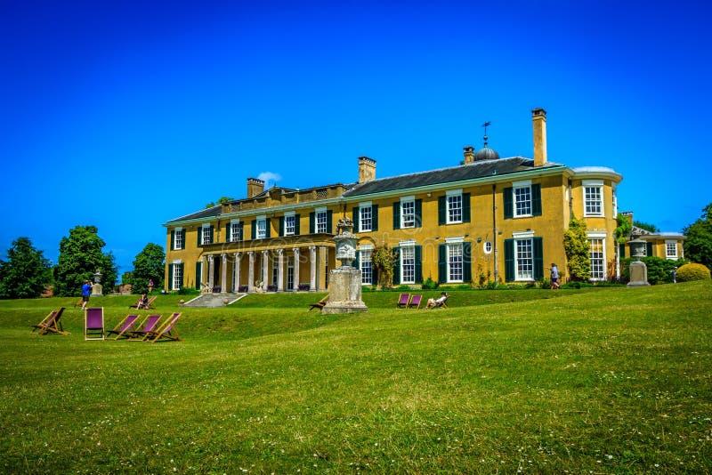 Rezydencja ziemska dom zdjęcie royalty free