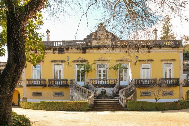 Rezydencja ziemska dom Coimbra Portugalia obrazy stock