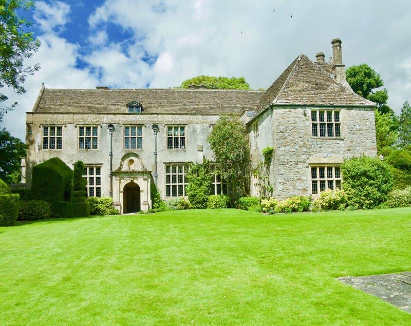 Rezydencja ziemska dom w Wiltshire obraz royalty free