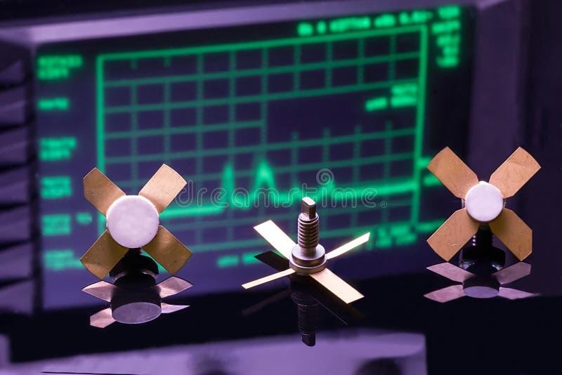 Rf-transistors royalty-vrije stock foto