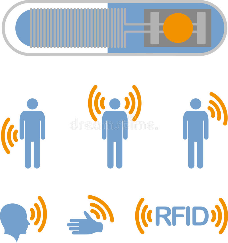 RFID illustrazione di stock