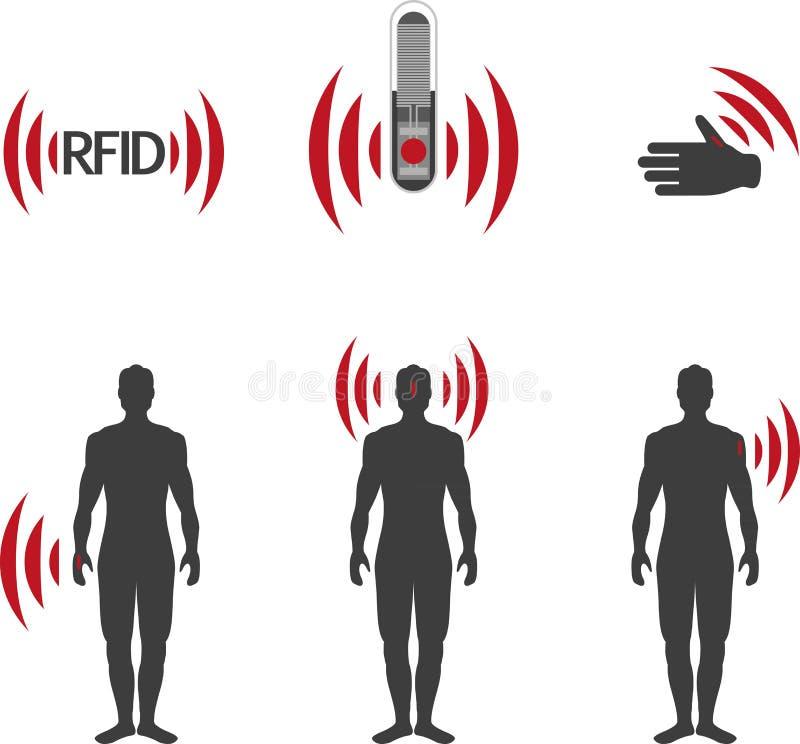 RFID vector illustratie