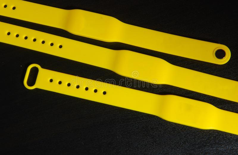 Rfid bracelet. The RFID bracelet is a convenient replacement for electronic cards. stock photography