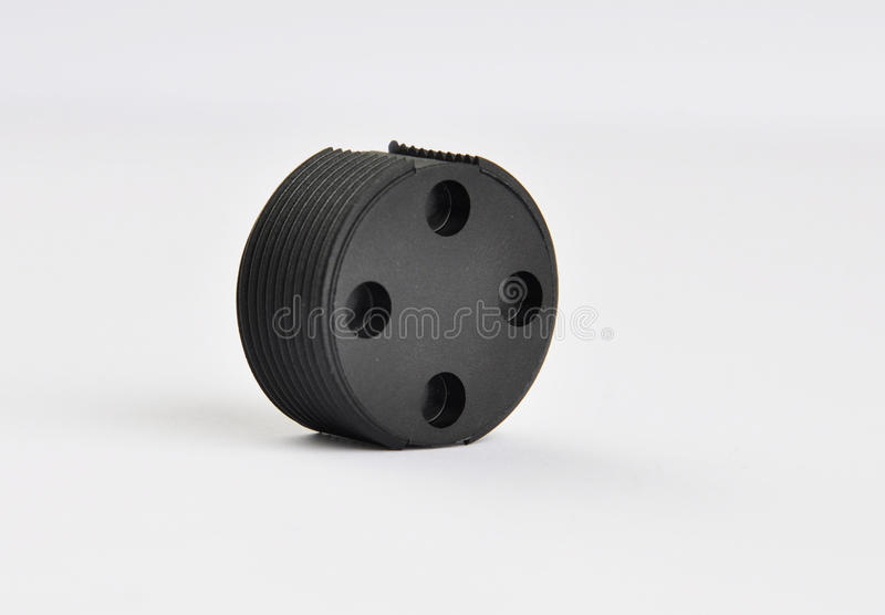 RFID Chips Tags for Waste Bins stock images