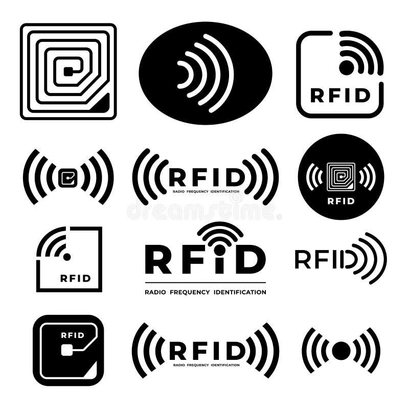 RFID Illustration Vector stock illustration