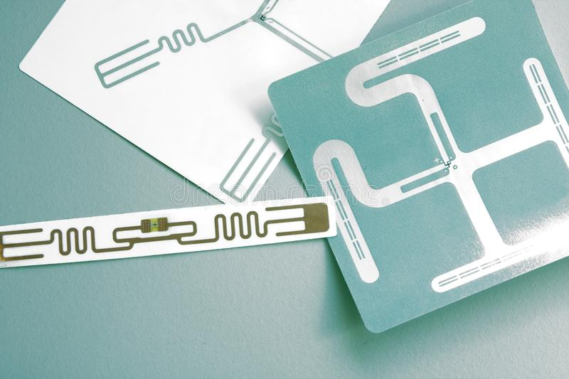 Rfid Labels stock images