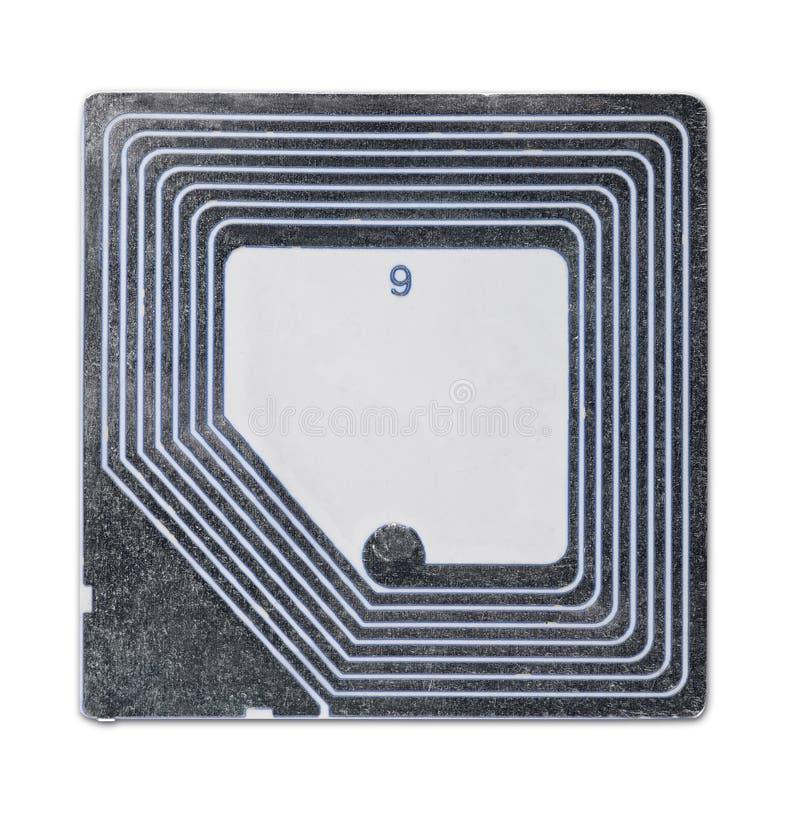RFID tag stock image