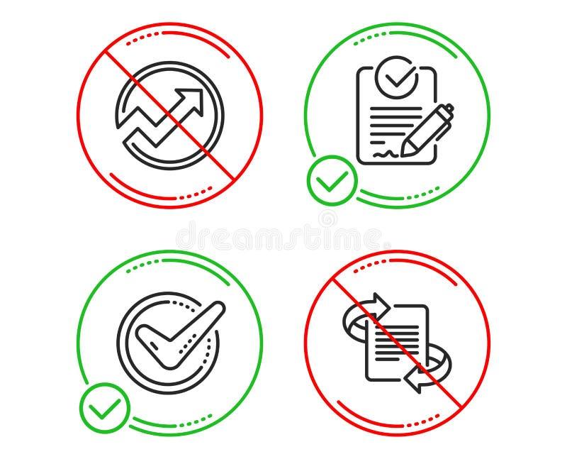 被证实的,审计和Rfp象集合 销售的标志 被接受的消息,箭头图表,索取承包人估价书 ?? 库存例证