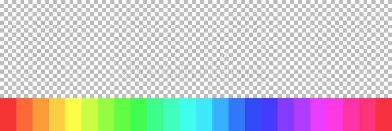 RGB彩虹颜色有方格的背景 向量例证