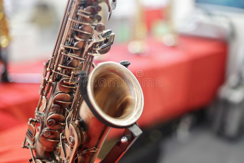 Rgb εικόνα πλίθας του saxophone στοκ φωτογραφίες