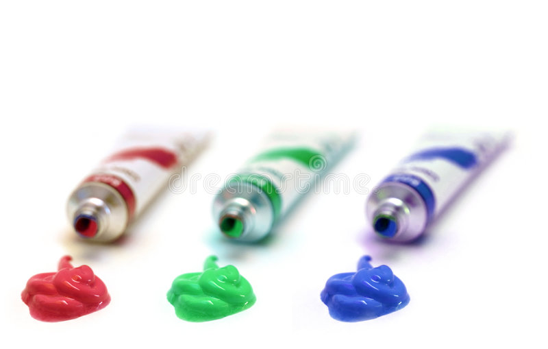 RGB immagine stock