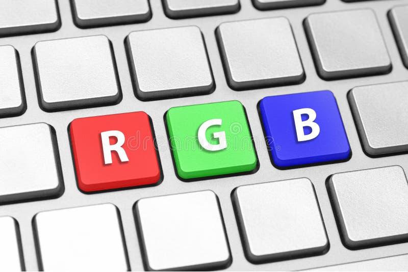 RGB stock afbeelding