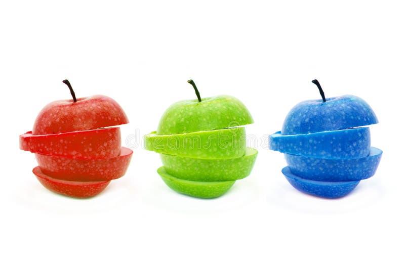 RGB Apple stockbilder