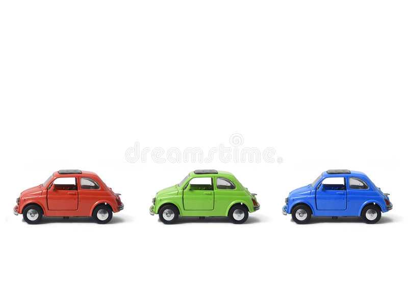 RGB auto royalty-vrije stock fotografie