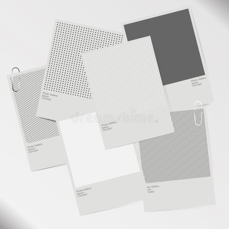 RGB básico ilustração stock