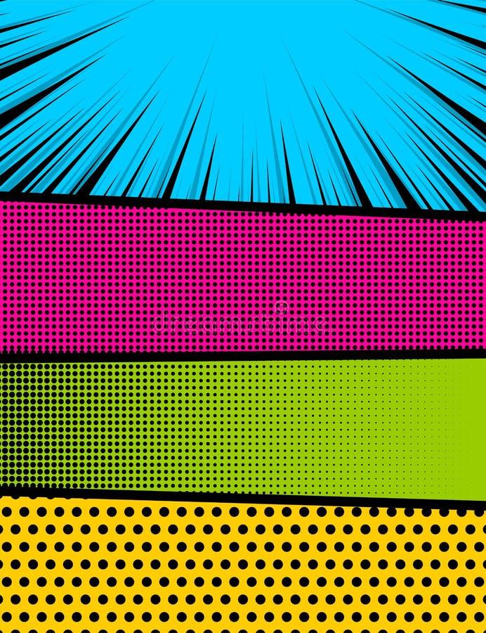 RGB básico stock de ilustración