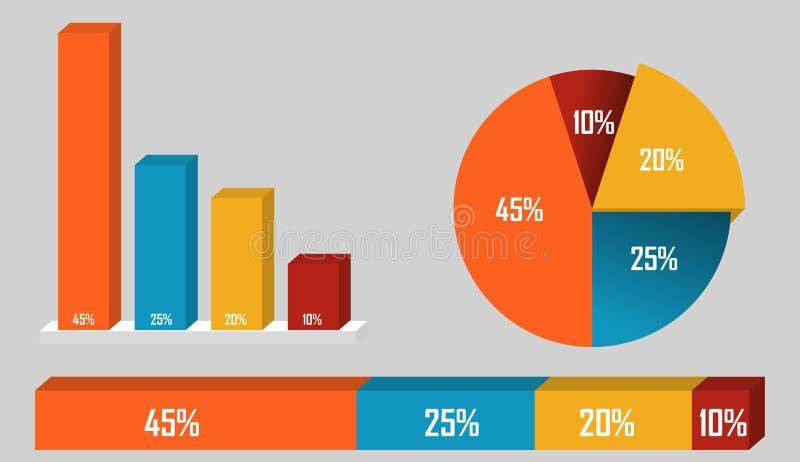 RGB di base illustrazione di stock
