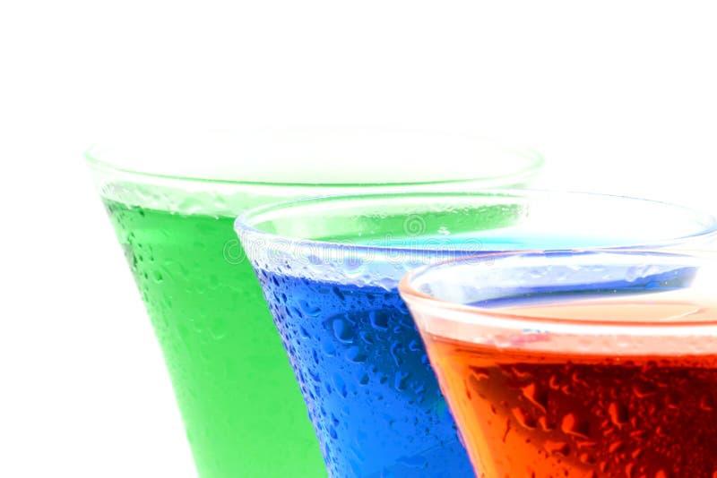 RGB dranken stock foto's
