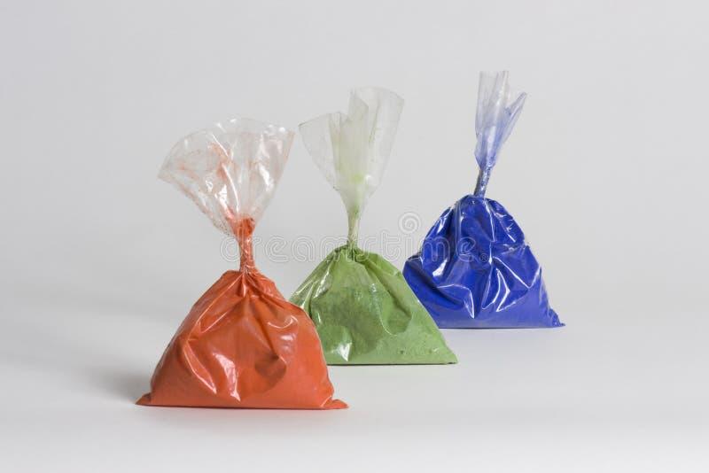 Rgb-Farben stockfotos