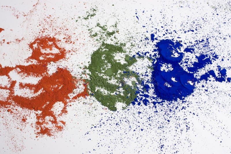 Rgb kleuren stock foto's