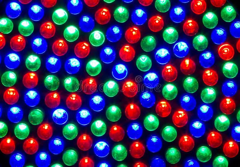 RGB LED lizenzfreie stockfotos