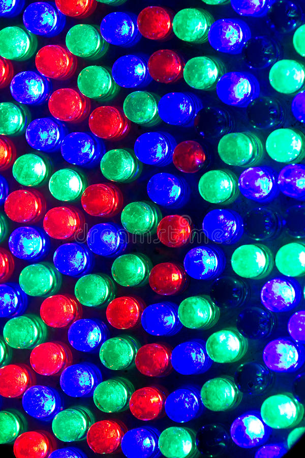 RGB LED stockbild