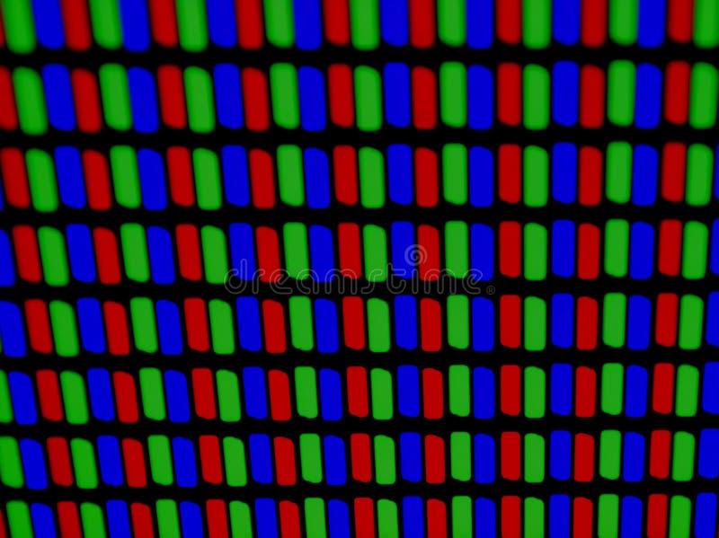Rgb-Matrix lizenzfreies stockbild