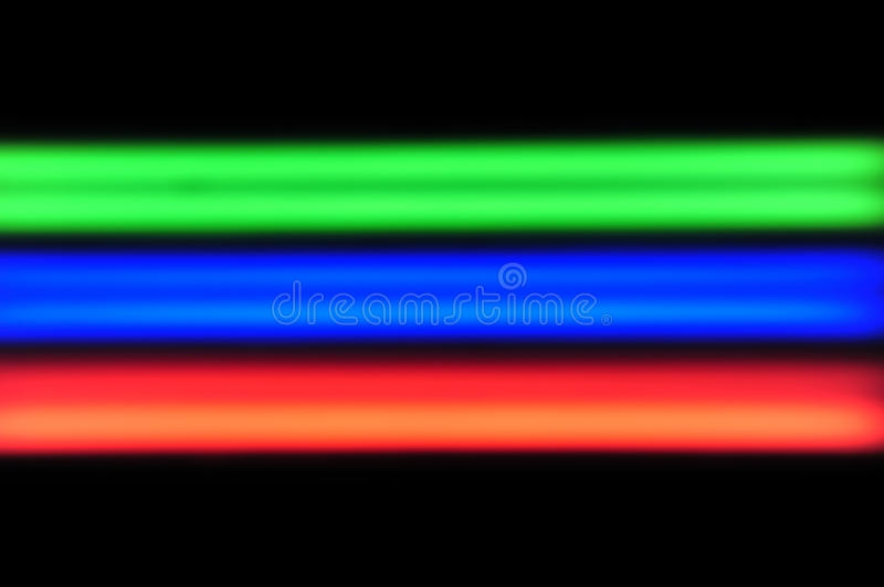 RGB Red Blue Green Royalty Free Stock Photo