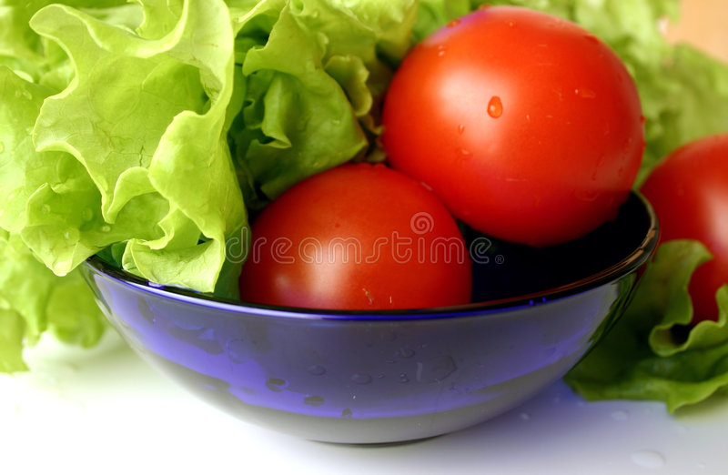 RGB salad royalty free stock photo