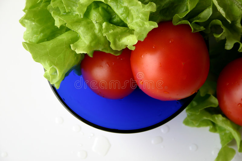 RGB salad III stock photo