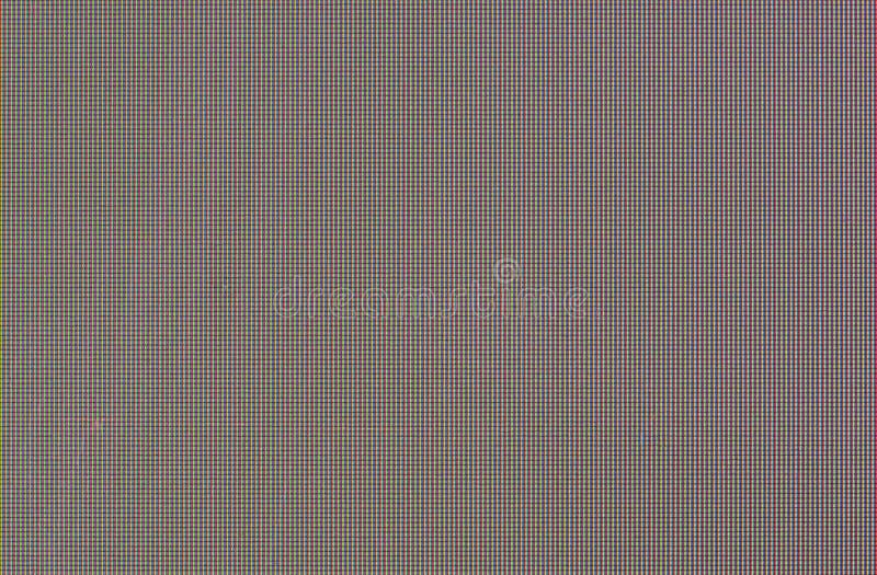 RGB TV ekranu czerepu piksli makro- zbliżenie z kopii przestrzenią dla teksta lub wizerunku zdjęcia royalty free