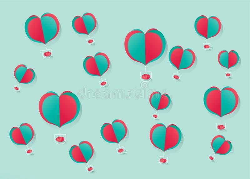 RGB Valentine royalty-vrije illustratie