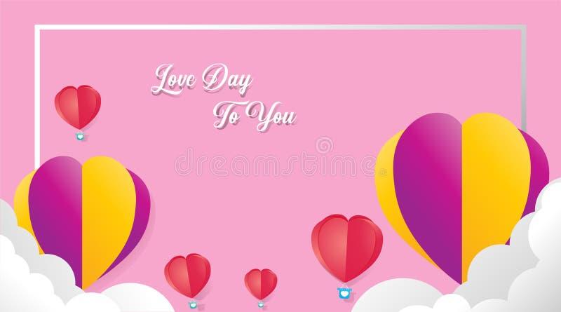 RGB Valentine vector illustratie
