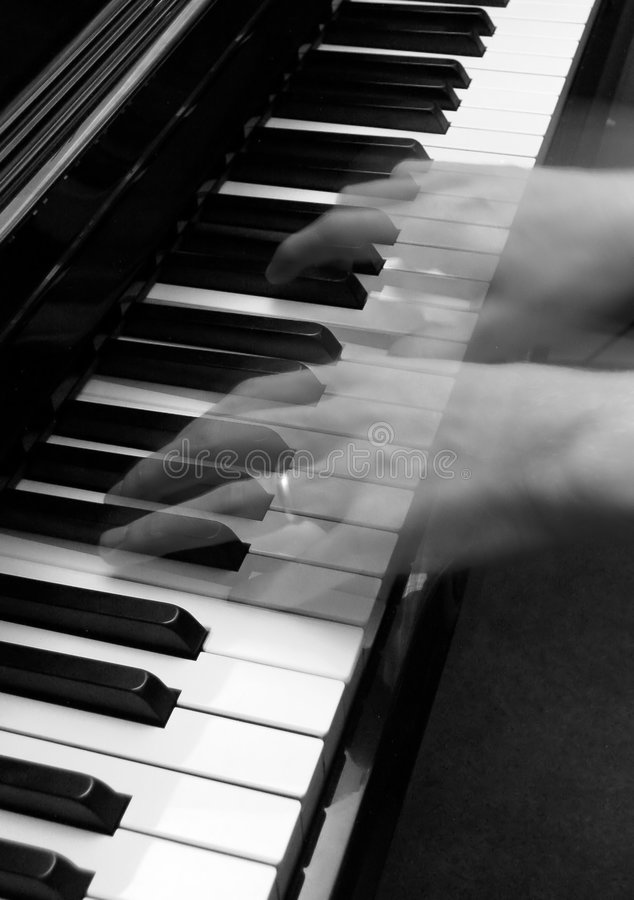 Rhapsody in Black and White stock image