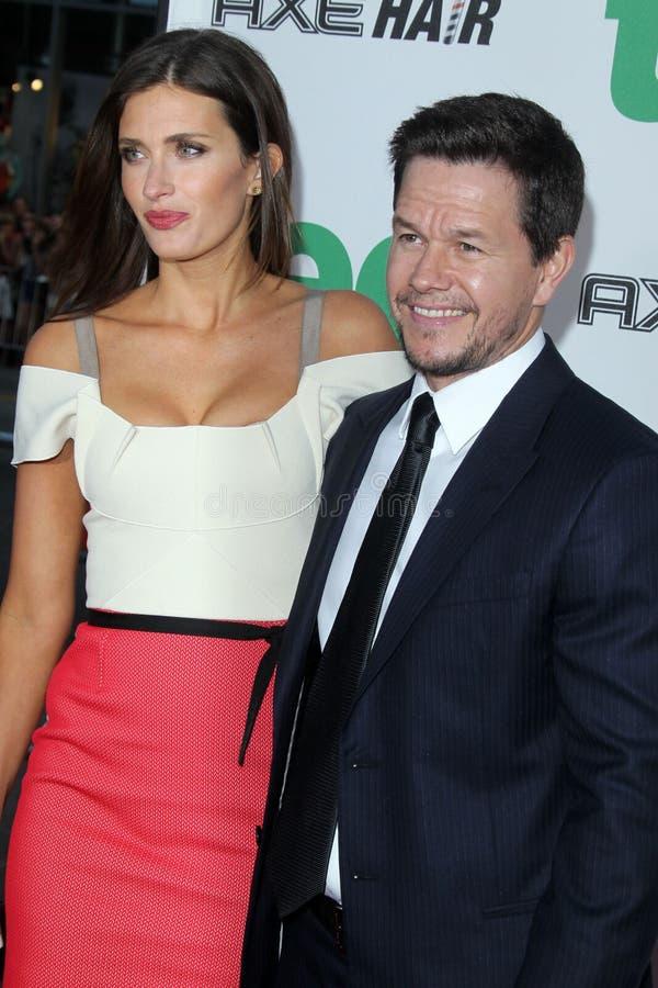 Rhea Durham, Mark Wahlberg obtient au   photo stock